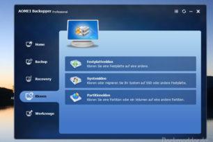 AOMEI Backupper 4.1.0 steht zum Download bereit