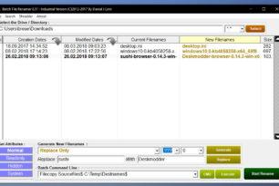 Batch File Renamer 8 derzeit kostenlos im Microsoft Store