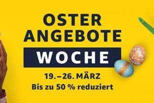Amazons Oster-Angebote-Woche vom 19.März bis 26.März angekündigt