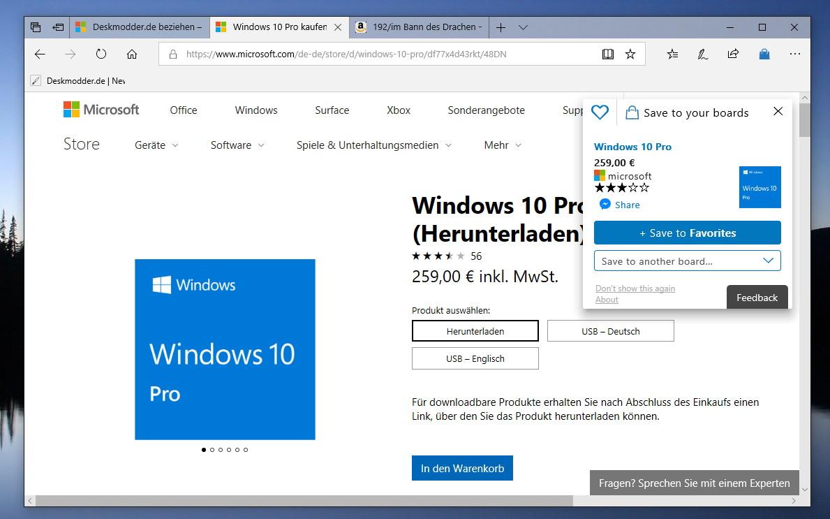 Klicks auf Links in Windows Mail öffnen zwingend Edge — Microsoft testet