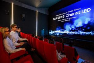 Samsung – Erster Kinosaal mit LED-Screen statt Projektor