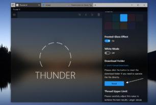 Thunder X  Download-Tool als Windows 10 App derzeit kostenlos