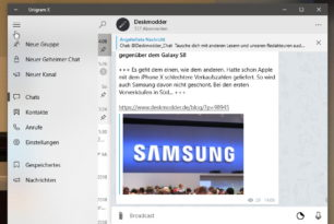 Unigram 3.13.2635 letzte Version für Windows 10 Mobile