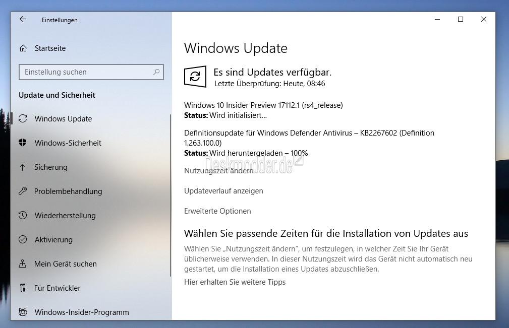 Windows 10 17112 (RS4) – Neue Insider Build im Fast Ring steht ...