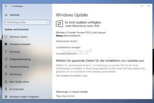 Windows 10 17123 und 17623 steht für die Insider bereit