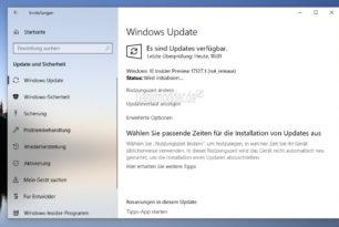 Windows 10 17127  steht für die Insider im Fast Ring bereit