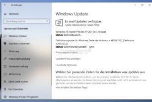 Windows 10 17120 im Slow Ring erschienen