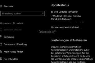 Windows 10 Mobile 15254.313 als KB4090912 freigegeben
