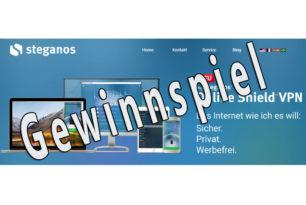Gewinnspiel: Fünf 1 Jahres Lizenzen für mySteganos Online Shield VPN gewinnen