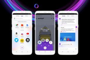 Opera Touch (R2) der neue mobile Browser – Plus Desktop Synchronisation von Opera