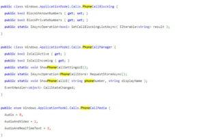Was hat Microsoft mit der Phone-API vor?