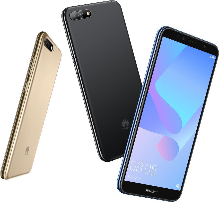 Huawei Y5 2018, Huawei Y6 2018 und Huawei Y7 2018 offiziell vorgestellt