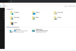 """Windows 10 Datei Explorer mit """"Dark Theme"""" in Arbeit"""