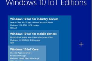 Windows 10 IoT 17134 nun auch erschienen