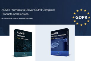 GDPR Version: AOMEI Backupper Free und Partition Assistant Free