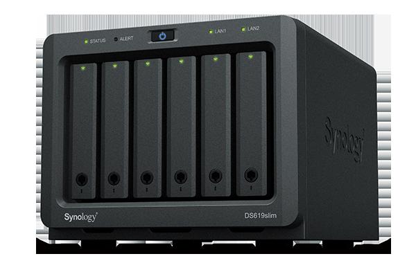 Synology verrät: DiskStations DS619slim, DS1019+ und DS2419+