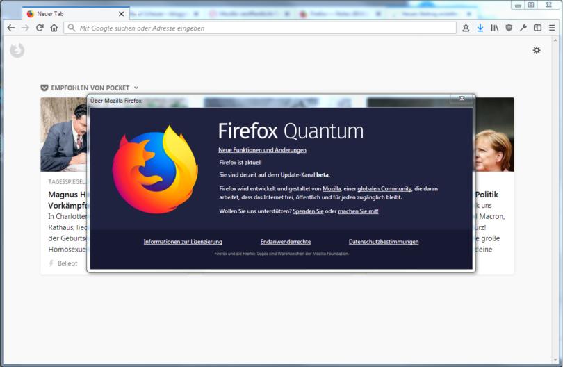 Firefox 60.0.1