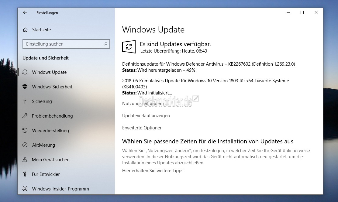 windows 10 upgrade nur herunterladen