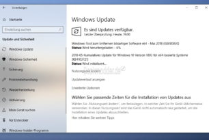 KB4103721 Windows 10 17134.48 (Manueller Download) [Update]: Bekannte Probleme hinzugefügt