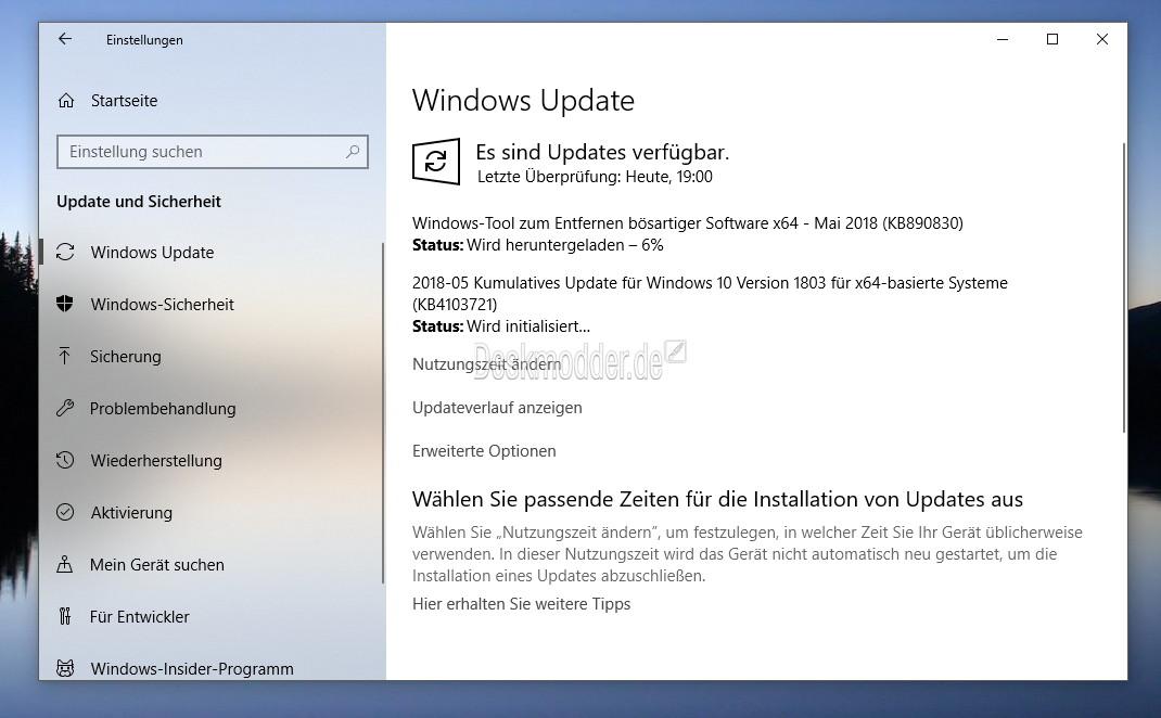 Keine Updates Windows  Build
