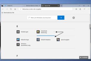 Datei Explorer Neuer Tab – App und Programm Auswahl nun direkt möglich