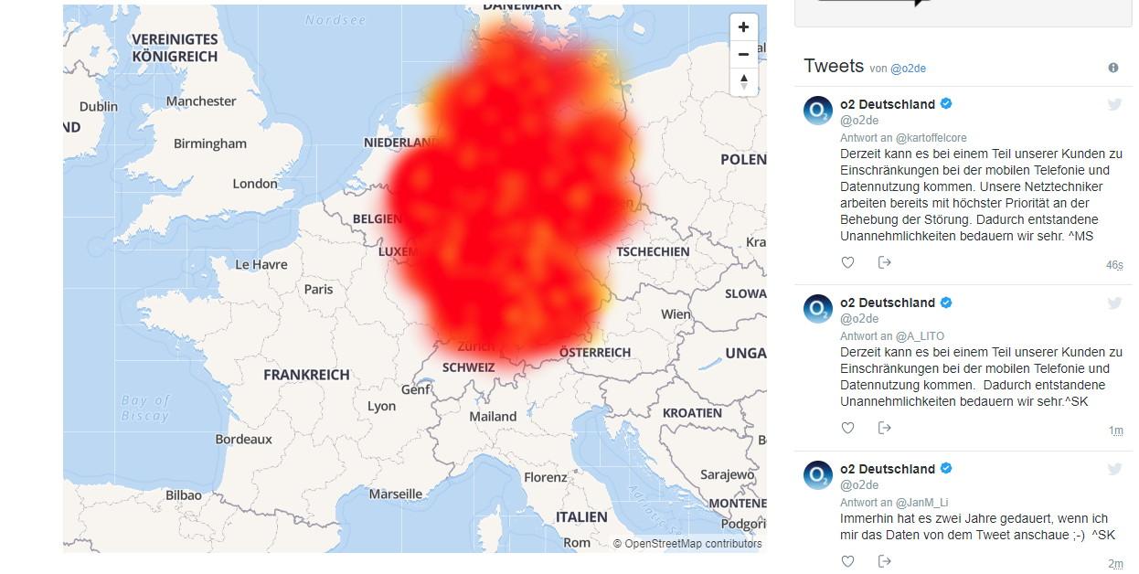Eplus Netzabdeckung Karte.O2 E Plus Störung Nimmt Nicht Ab Sondern Zu Update Deskmodder De
