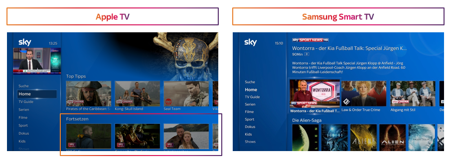 Sky Q Smarttv App Ab Sofort Auf Samsung Tvs Deskmodderde