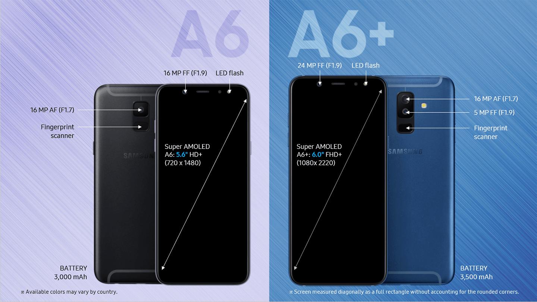 Samsung Galaxy A6/A6+: Die schöne, neue Mittelklasse taucht auf