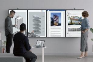 Surface Hub 2 Microsoft stellt sein neues Gerät im Video vor