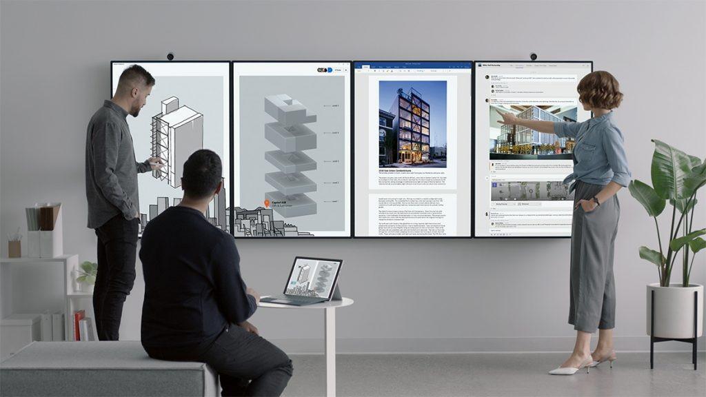 Microsoft stellt Konferenzsystem Surface Hub 2 vor