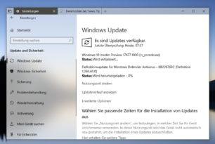 Windows 10 17677 steht für die Insider bereit