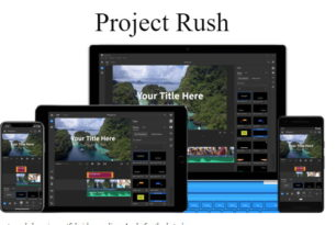 Adobe Projekt Rush – Premiere Pro, Audition und After Effects in einem Programm