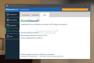 AdwCleaner 7.2.0 ist erschienen – Toolbars, Adware und Spyware entfernen