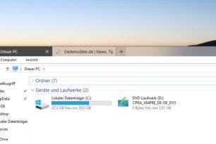 Aero Glass Build 1342 für die Windows 10 1803 17134