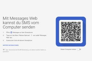 Android Messages Web – Nachrichten direkt am PC lesen und schreiben