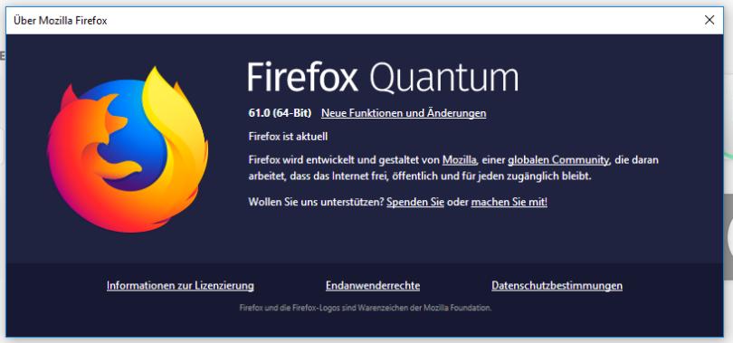 Firefox 61