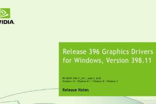 GeForce 398.11 WHQL und 398.18 Hotfix Treiber stehen zum Download bereit