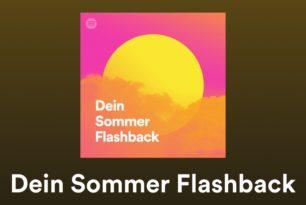 """""""Dein Sommer Flashback"""": Spotify mit neuer personalisierter Playlist"""