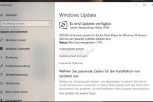Flash Player 30.0.0.113 und KB4287903 behebt Schwachstellen mit einem höheren Risiko [Update]