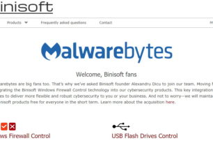 Malwarebytes greift sich Binisoft Windows Firewall Control und USB Flash Drives Control