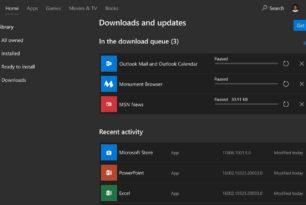 Microsoft Store App 11806.1001.21.0 mit neuem Menü jetzt für alle