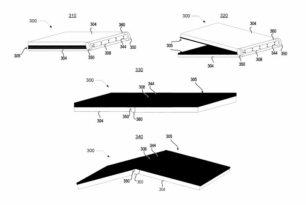 Motorola mit einem interessanten Patent für faltbare Displays