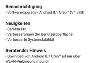 Nokia 8 Oreo 8.1 v.4.88B, Camera Pro, Sicherheitspaches und weitere Verbesserungen