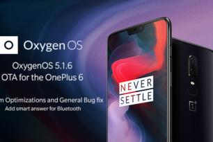 OnePlus 6 bekommt OxygenOS 5.1.6 spendiert
