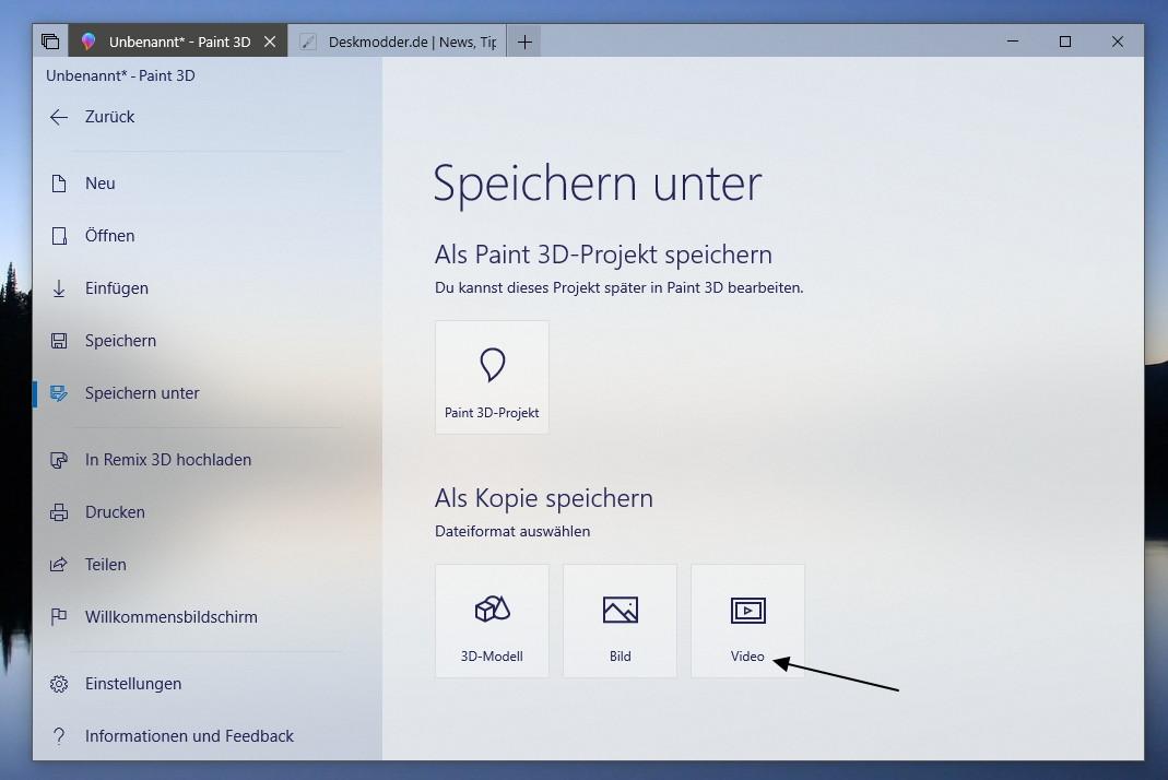 Paint 3d Speichert Projekte Nun Auch Als Video Oder Gif Animation