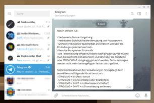 Telegram 1.3 – Windows 10 App mit neuen Tastenkombinationen