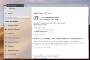 Windows 10 17692 steht für die Insider bereit