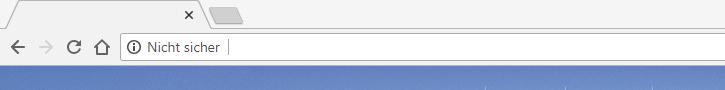 Chrome 68 HTTP Seiten