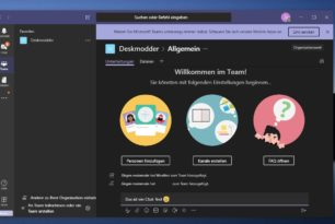 Microsoft Teams Free einmal angeschaut