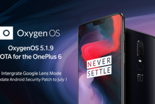 OnePlus 6: OxygenOS 5.1.9 wird ausgerollt